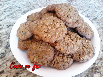 Cookie integral de granola