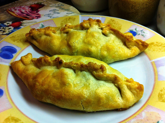 Spicy Keema Pasties