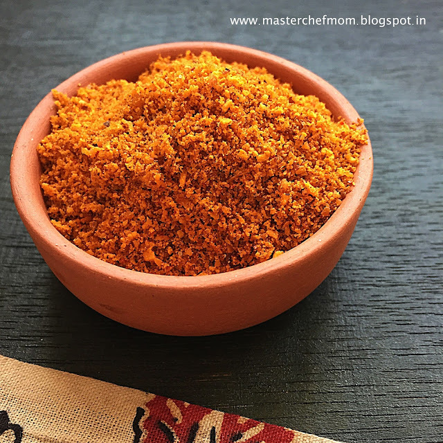 Thengai Podi | Coconut Chutney Powder | Spice Powder Recipes by Masterchefmom