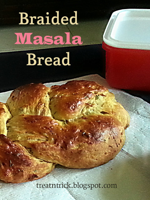 BRAIDED MASALA BREAD