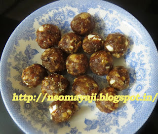Dry fruits -Rock Candy Laddu