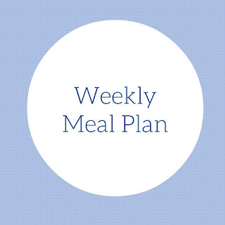 Weekly Meal Plan April Week 3