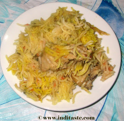 Easy Chicken Biriyani