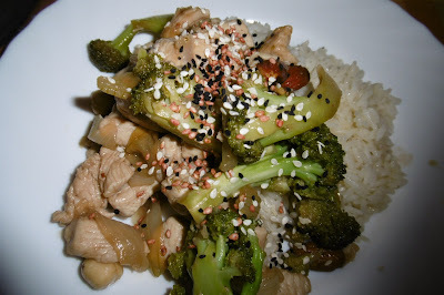 Madhouse recipe : Honey & Soy Chicken & Broccoli Stir Fry