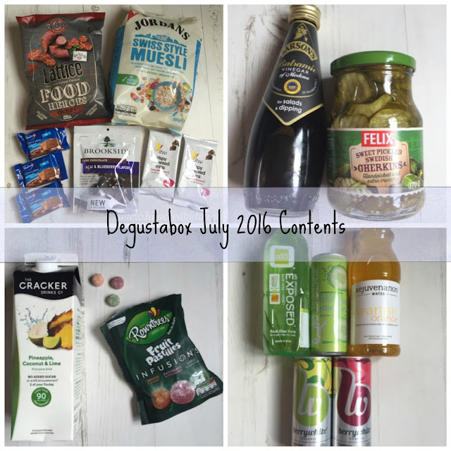 Swiss Style Muesli Cake and Degustabox July Contents