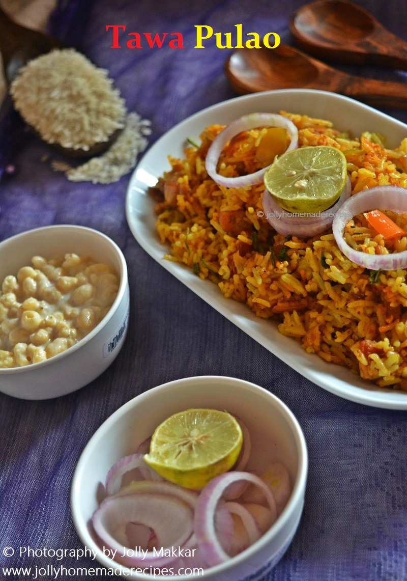 Tawa Pulao Recipe, How to make Famous Mumbai Style Tawa Pulao | Pulao Recipes