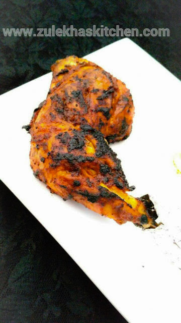 Recipe of Tandoori Chicken without Tandoor ( on gas )