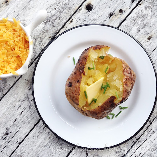 How to Cook the Perfect Baked Potato + French Potatoes