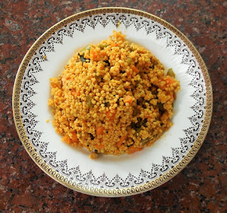 NAVANE VEGETABLE VANGIBATH - Spicy Vegetable and Foxtail Millet