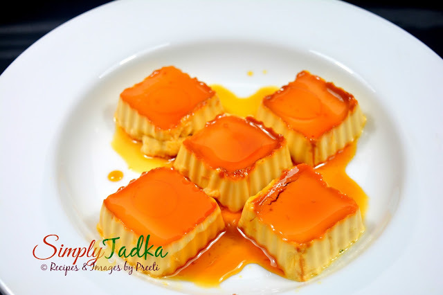 Eggless Caramel Custard Pudding | Eggless Creme Caramel