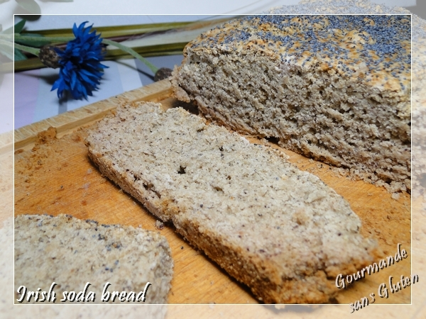 Irish soda bread, un pain irlandais express, version sans gluten