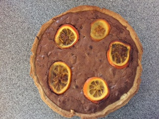 Hoxton Street Monster Supplies Cookbook Giveaway and Halloween Chocolate Orange Tart