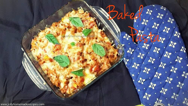 Baked Macaroni and Cheese with Tomato Sauce, Easy Baked Mac and Cheese Recipe