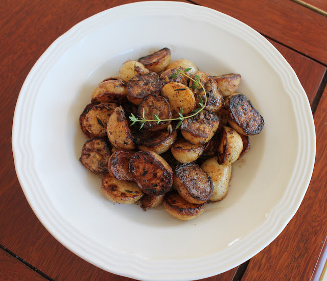 Browned Butter Braised Baby Turnips #SundaySupper