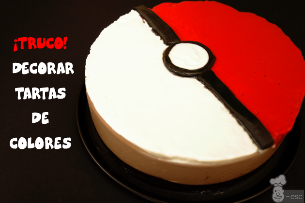 Truco para decorar tartas de colores | Tarta Pokemon de Oreo y Nutella