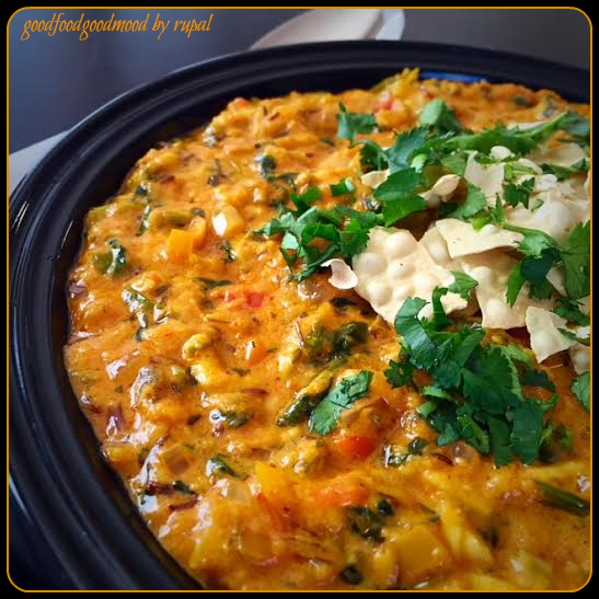 Methi-Paneer Bhurji in Gravy