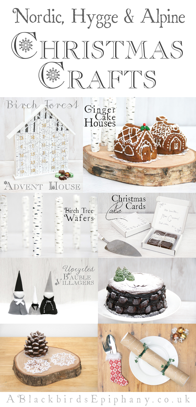Alpine, Nordic & Hygge Christmas Crafts
