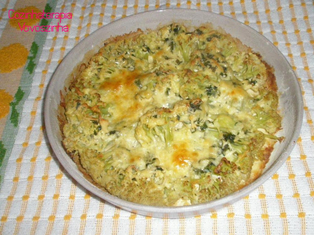 couve flor gratinada low card
