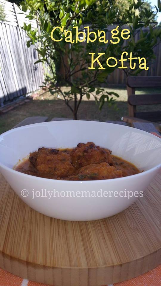 Cabbage Kofta Recipe, How to make Cabbage Kofta | Cabbage Kofta Curry Recipe