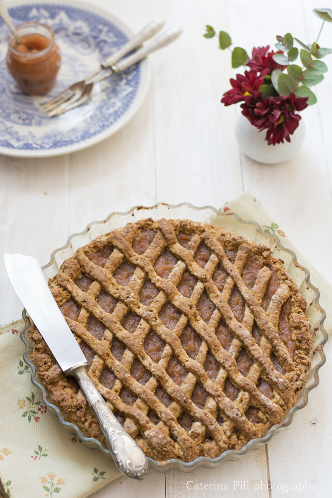 Crostata light con frolla allo yogurt