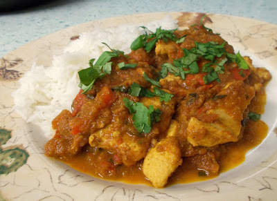 Chicken Jalfrezi - a lighter but still tasty version!