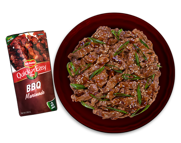 Beef BBQ Teriyaki Recipe