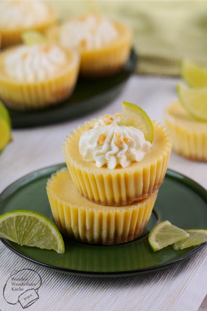 Key Lime Cheesecake Muffins
