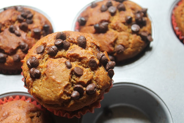 Eggless Orange Chocolate Chip Muffins Recipe