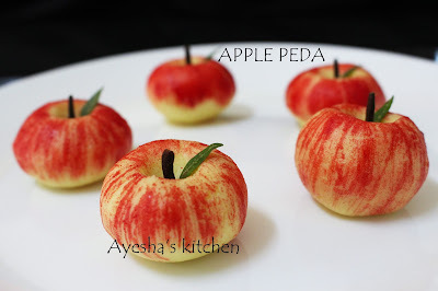 APPLE PEDA - EASY SWEET RECIPE