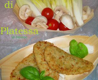 filetti di platessa con panatura leggerasenza uovasenza grassisenza frittura