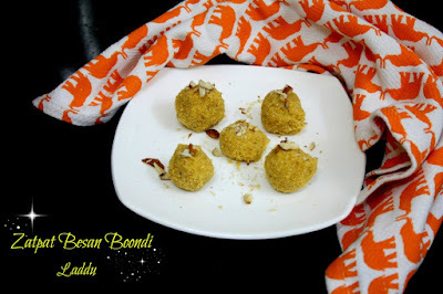 Zatpat Besan Boondi Laddu | How to make Quick Boondi Ladoo