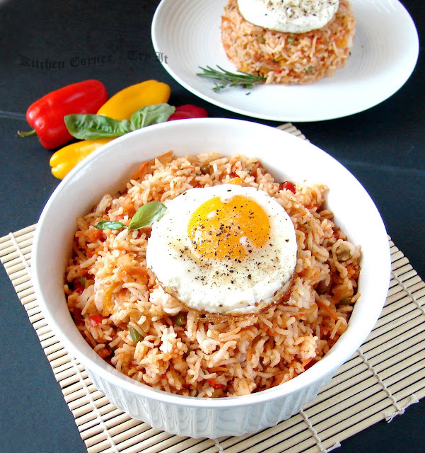 Mexican Tomato Fried Rice