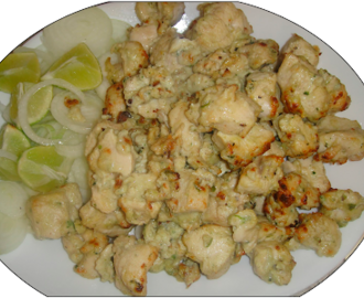 how to make chicken cheese kabab recipe