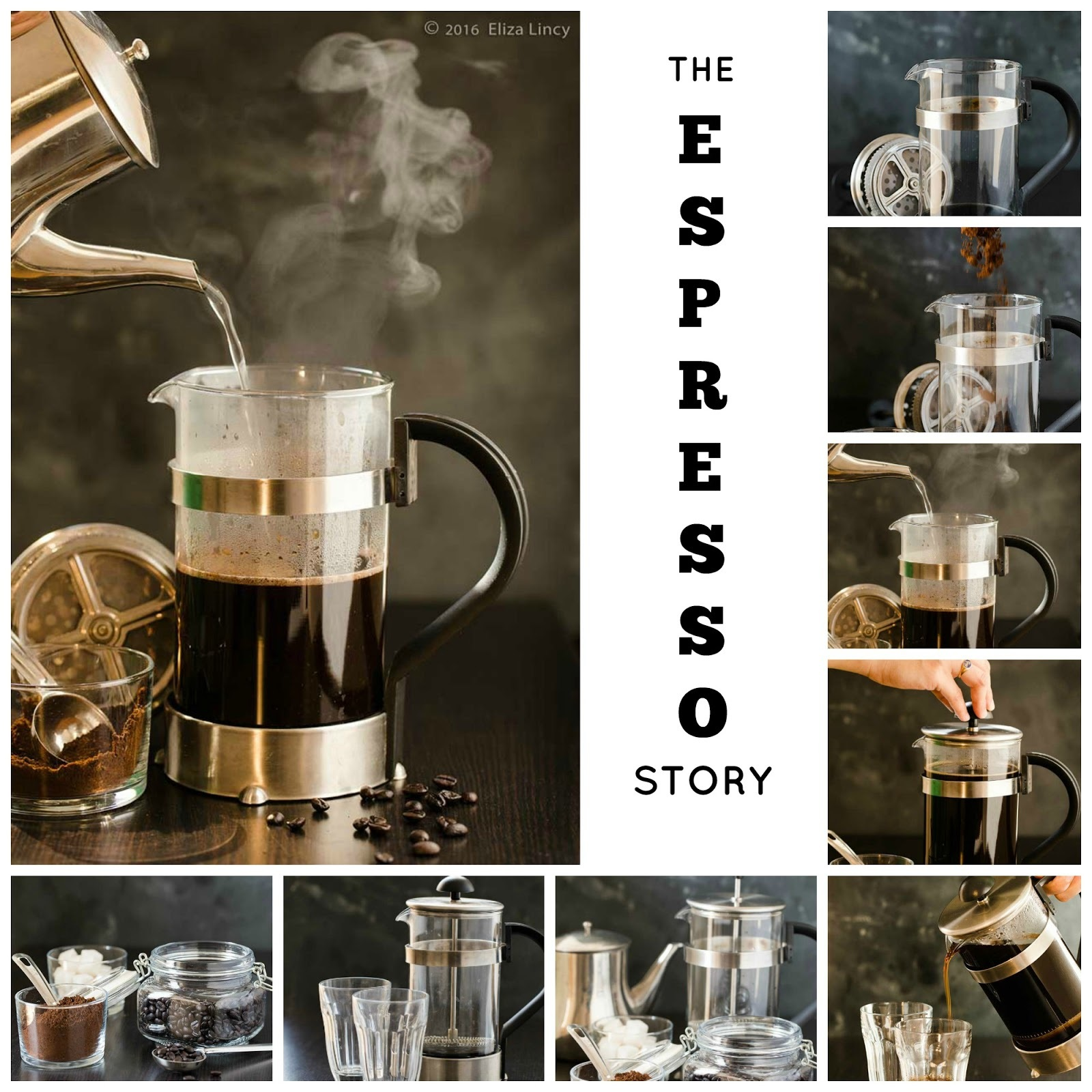 The Espresso Story with French Press