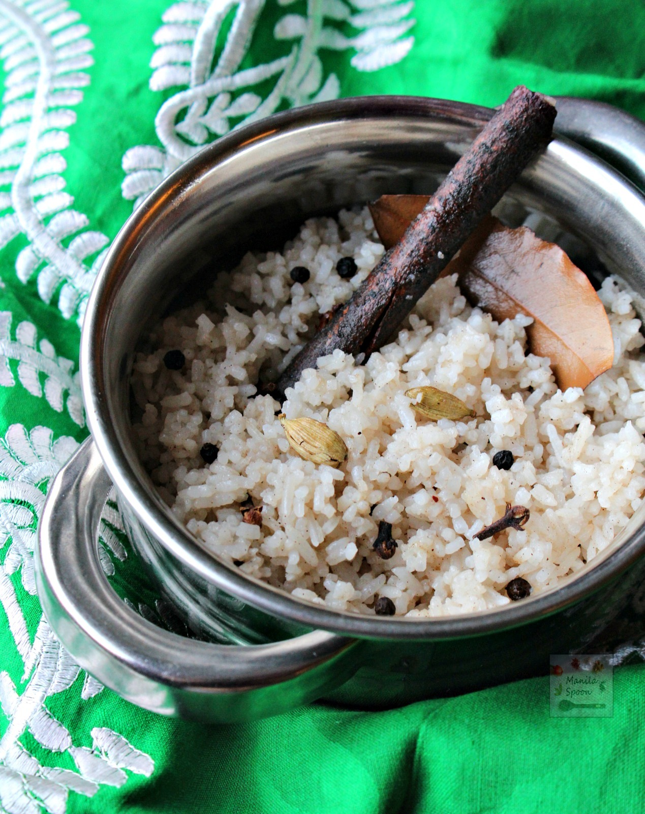 Fried Rice with Aromatic Spices