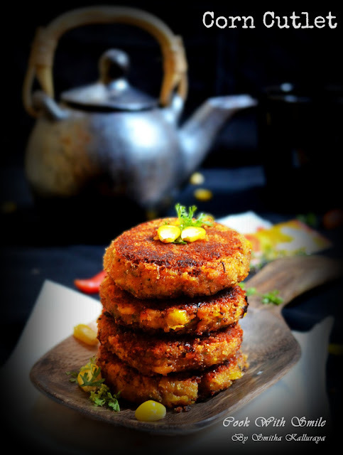 CORN CUTLET RECIPE / CORN PATTIES / CORN TIKKI -SWEET CORN RECIPES