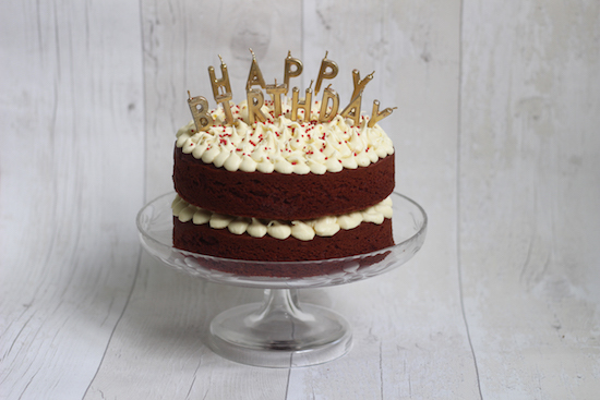 super easy red velvet cake: #icakeyou