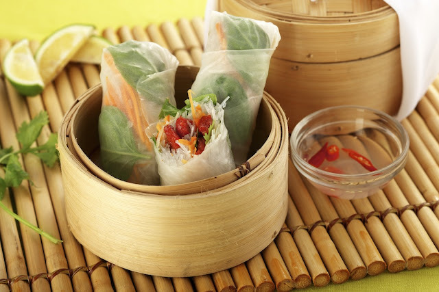 Vietnamese Spring Roll with Caramelized Tocino Recipe