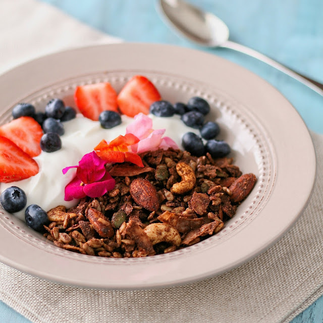 Sugar Free Chocolate Granola
