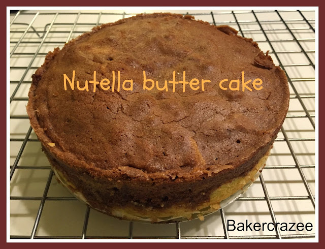 Nutella butter cake