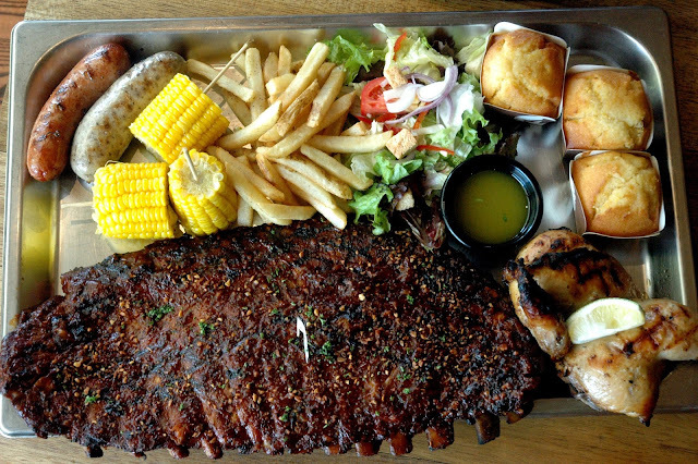 Sticky Bones and Ribs at Morganfield's