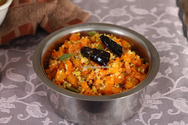 Carrot poriyal / Carrot stir fry/കാരറ്റ്‌ പൊരിയൽ / Video recipe