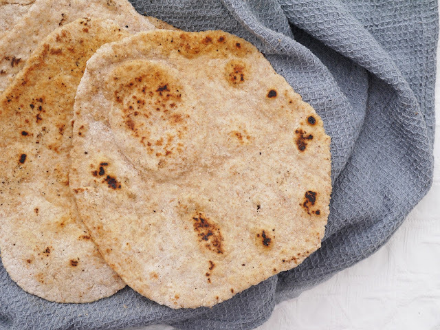 Wholemeal Pitta Flatbreads.