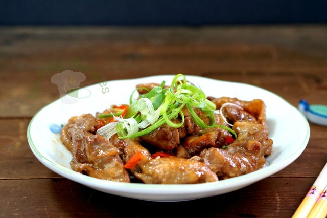 Pan-fried Oyster Sauce Chicken ~  煎蚝油鸡