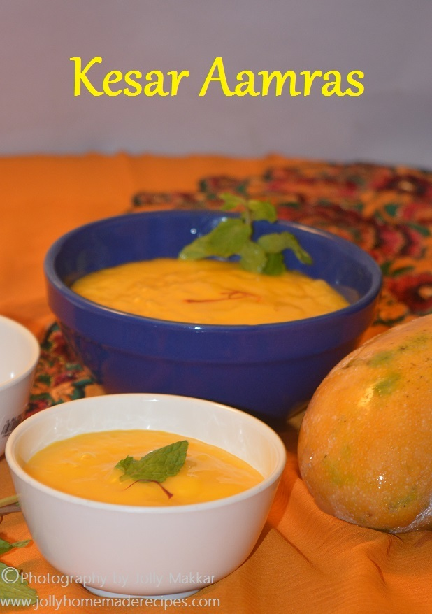 Kesar Aamras Recipe, How to make Kesar Aamras | Easy Aamras Recipe
