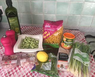 PANCETTA, MINT & BROAD BEAN PASTA