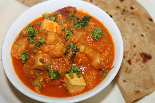 Quick Cashew Vegetable Kurma Recipe