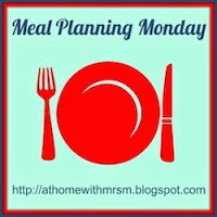 Meal Planning Monday Week 8