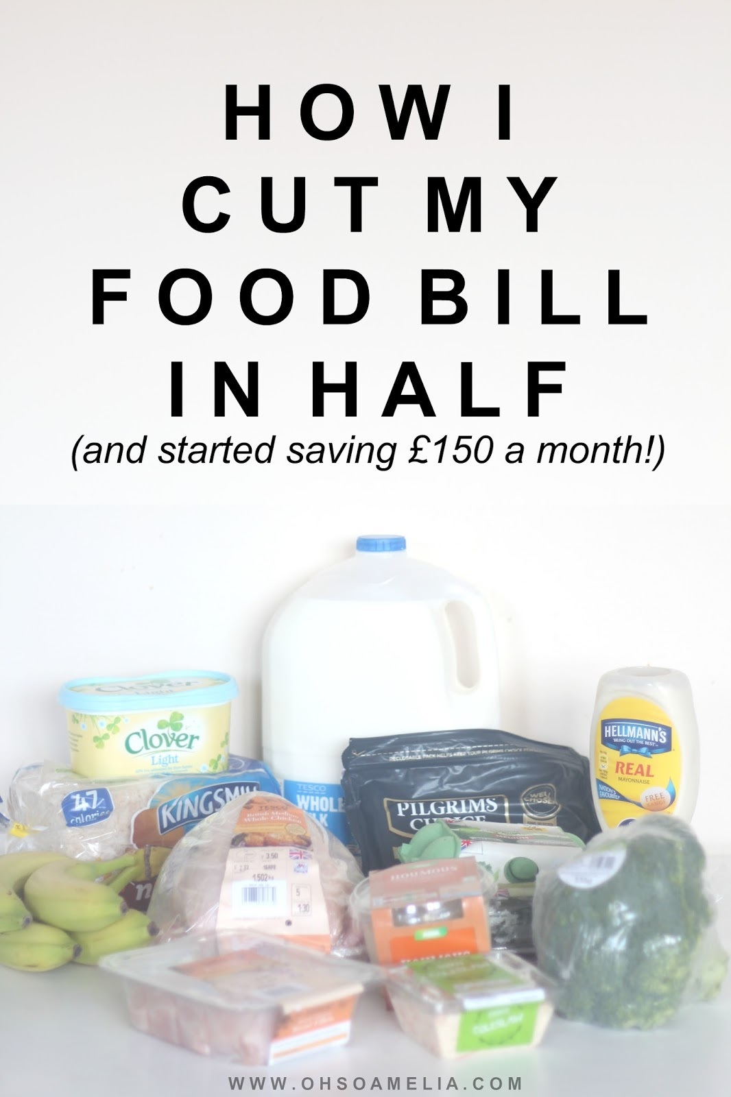 How I Cut My Food Bill In Half And Started Saving £150 A Month