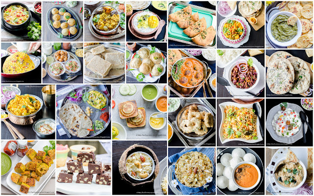 A-Z dishes across Indian (Recap of Journey through the Cuisines)